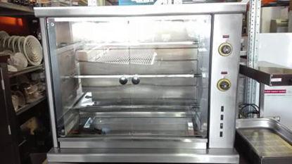Picture of Κοτοπουλιέρα ηλεκτρική με 3 σούβλες 106*45*84 SERGAS